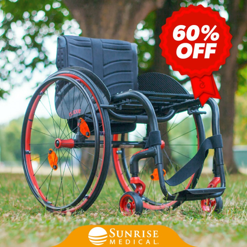 Sunrise Medical Quickie Helium Pro Black Edition - Sale