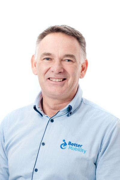 Andrew Weston, Power Mobility Product Specialist